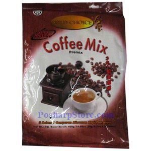 Picture of Gold Choice 3-In-1 Instant Coffee Mix 14 oz