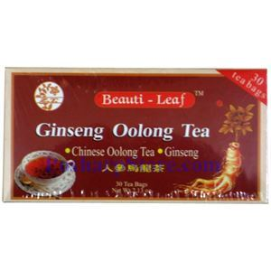 Picture of Beauti-Leaf Ginseng Oolong Tea, 30 Teabags
