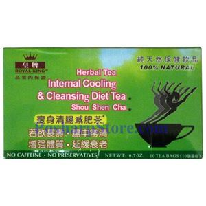 Picture of Royal King Internal Cooling & Cleasing Diet Tea (Shou Shen Cha)