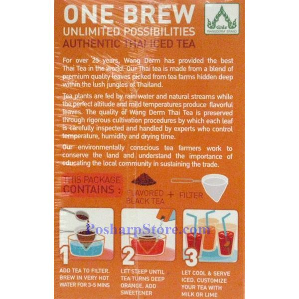 Picture for category One Brew Thai Ice Tea with Black Tea Flavor 20 Teabags