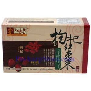 Picture of Yummy House Goji Red Date (Jujube) Brown Sugar Tea 10 sachets