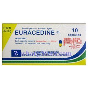 Picture of Euracedine Capsules  10 Capsules