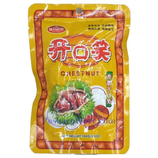 Picture of Tasty Snacks Peeled Chestnuts 3.5 oz