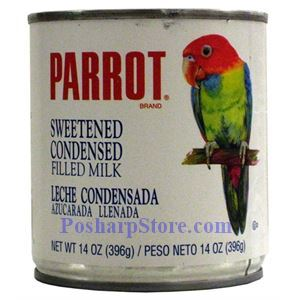 Picture of Parrot Brand Sweetened Condensed Milk Fat Free 14 oz