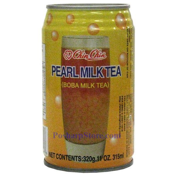 Chin Chin Pearl Milk Tea (Boba Milk Tea) 11 Fl.Oz