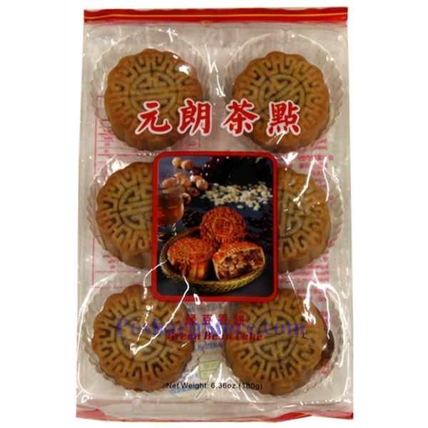 Picture for category Tiancheng Green Bean Paste Mini Mooncake 6.35 Oz