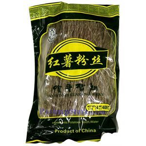 Picture of Xianzhiwei Sweet Potatoes Glass Noodles (Hair) 14 Oz