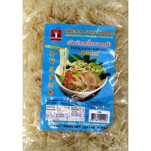 Picture of CTF Brand Oriental Style Rice Noodles (Banh Pho) 2.2 Lbs