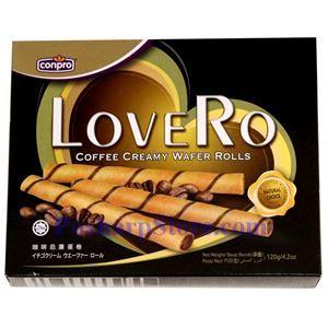 图片 Conpro牌咖啡忌廉蛋卷 120克