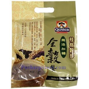 Picture of Quaker Instant Herbal Cereal Without Sugar Added 10.5 oz