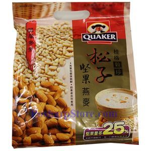 Picture of Quaker Instant Nuts Cereals with Pine Nuts 12.7 oz