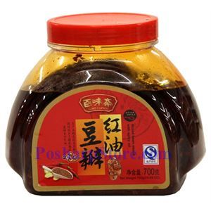 图片 百味斋牌红油豆瓣酱 700克