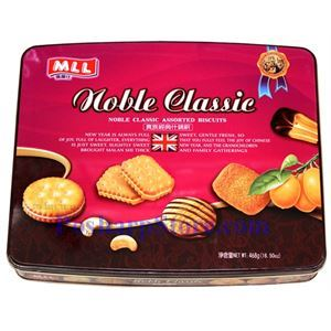 Picture of MLL Noble Classic Assorted Biscuits 16.5oz