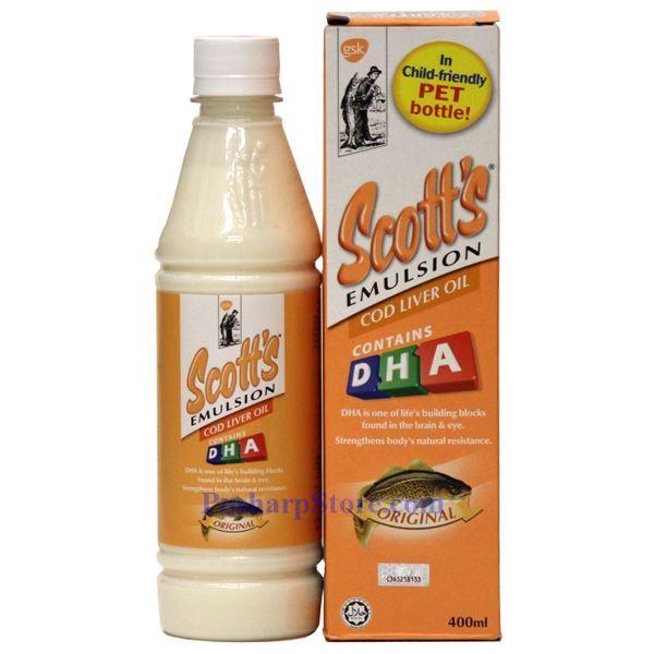 Picture for category Scott's Emulsion Cod Liver Oil Original Flavor 13.5 Fl Oz