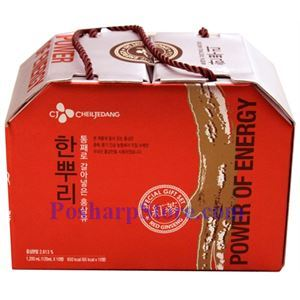 Picture of CheilJedang Korean Red Ginseng Drink 10 Bottles