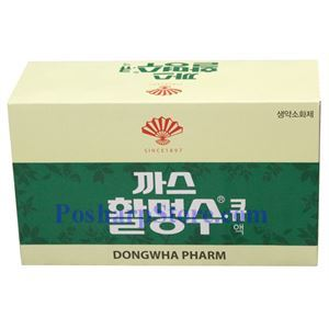 Picture of Dongwha Pharm Korean Refreshing Carbonated Herbal Drink 10 Bottles