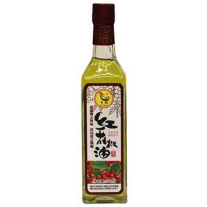 Picture of Feiquan Red Sichuan Peppercorn Oil (Prickly Ash)  10 Oz
