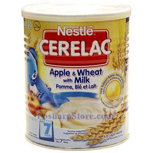 图片 雀巢Cerelac 牛奶苹果麦粉 400克