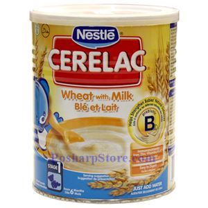 Picture of Nestle Cerelac  Wheat with Milk 14oz