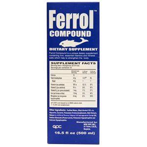 Picture of Ferrol Compound Dietary Supplement 16.5 fl oz