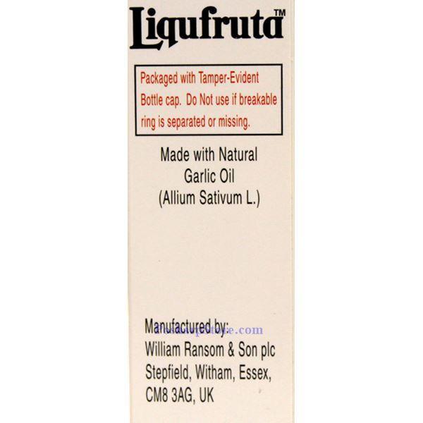 分类图片 Liqufruta 牌大蒜止咳液 150毫升