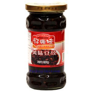Picture of Haoyunwei Hunan Style Fermented Black Beans in Chili Sauce 9.8 Oz