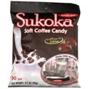 Picture of Unican Sukoka Soft Coffee Candy with 6% Daily  Value Calcium 3.2 oz