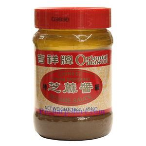 Picture of Oriental Mascot Chinese Style Tahini Dressing Sesame Sauce 16 Oz