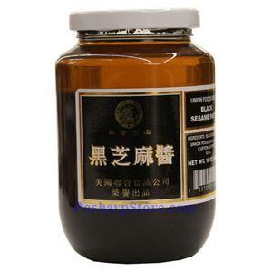 图片 联合食品牌黑芝麻酱  454克