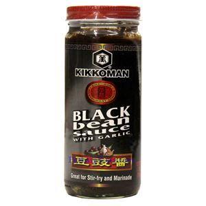 Picture of Kikkoman Black Bean Sauce with Garlic 8.7 Oz