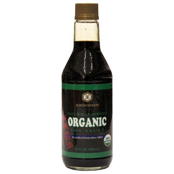 kikkoman organic soy sauce 15 fl oz