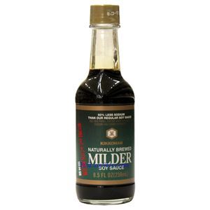 Picture of Kikkoman Milder Soy Sauce  8.5 Fl Oz