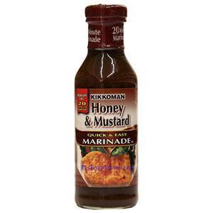 Picture of Kikkoman Honey & Mustard Quick & Easy Marinade  14 Oz