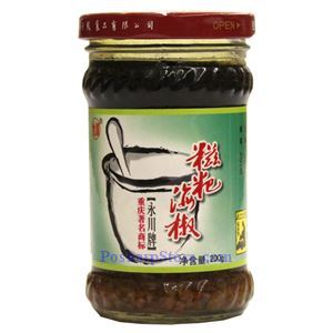 Picture of Yongchuan Grounded Chili Sauce 7 Oz
