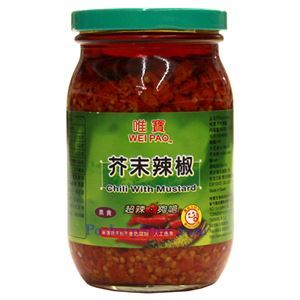 Picture of Wei Pao Mustard Chili Sauce 15 Oz