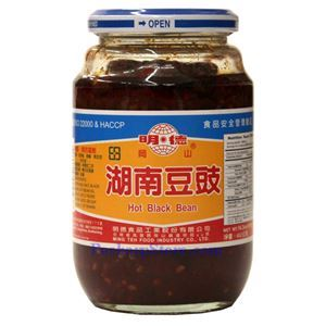 Picture of Mingteh Hunan Hot Black Bean 16 Oz