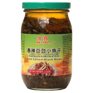 Picture of Wei Pao Chili Sardines with Black Beans 15 Oz