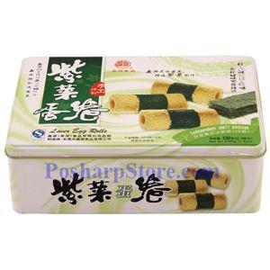 图片 鑫源牌香紫菜蛋卷 330克