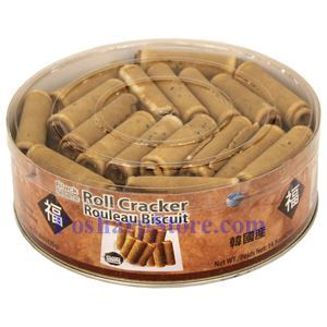 Picture of Fu Brand Korean Roll Cracker with Black Sesame 14.8 Oz