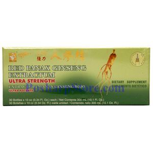 Picture of Prince of Peace Red Panax Ginseng Extractum Ultra Strength  30 Bottles