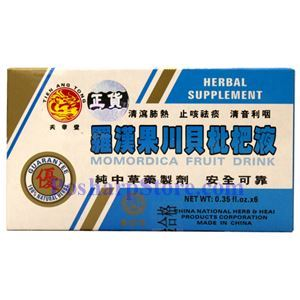 Picture of Tien Ang Tong Momordica Fruit Drink 6 Bottles