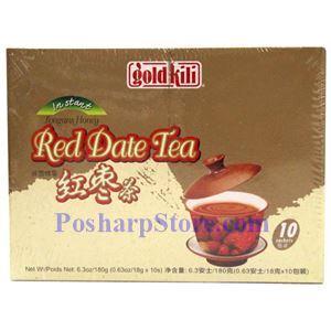 图片 Gold Kili 牌即溶桂圆蜂蜜红枣茶 10小袋