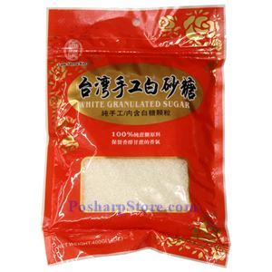 图片 林生记牌台湾手工白砂糖 320克