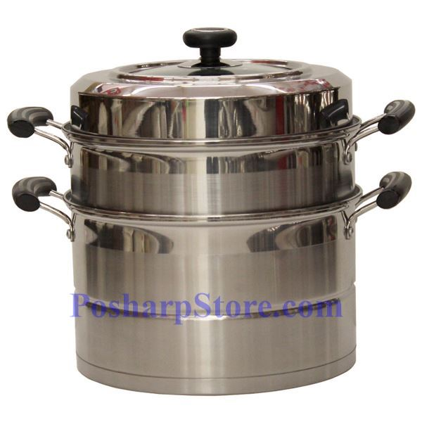 Picture for category Laotesi 12-Inch Two Tier Stainless Steel American Style Stock Pot