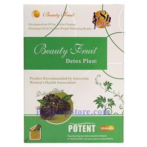 Picture of Beauty Fruit Detox Plum