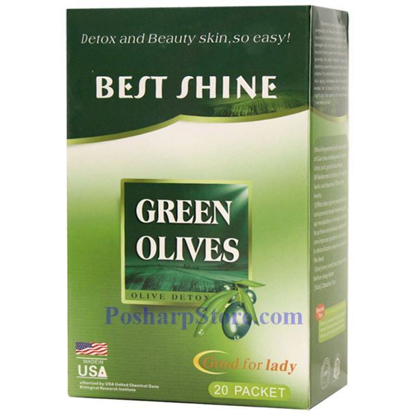 Picture for category Best Shine Green Olive Detox and Beauty 20 Packets