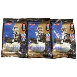 Picture of Shirukiku Instant Seasoned Seaweed 0.57 Oz, 3 packs