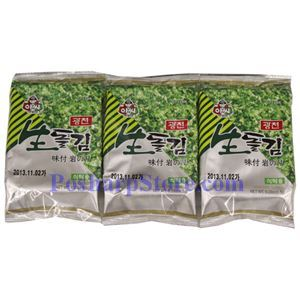 Picture of Assi Roasted Seaweed 0.69 oz  3 packs