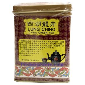 Picture of Golden Dragon Lung Ching Green Tea 5.3 Oz