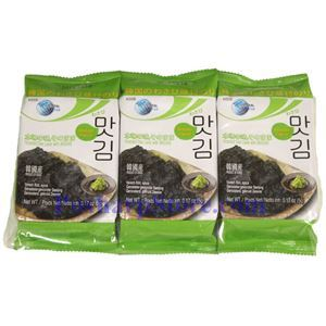Picture of Oriental F&B Roasted Sea Laver with Wasabi  0.53 Oz, 3 packs